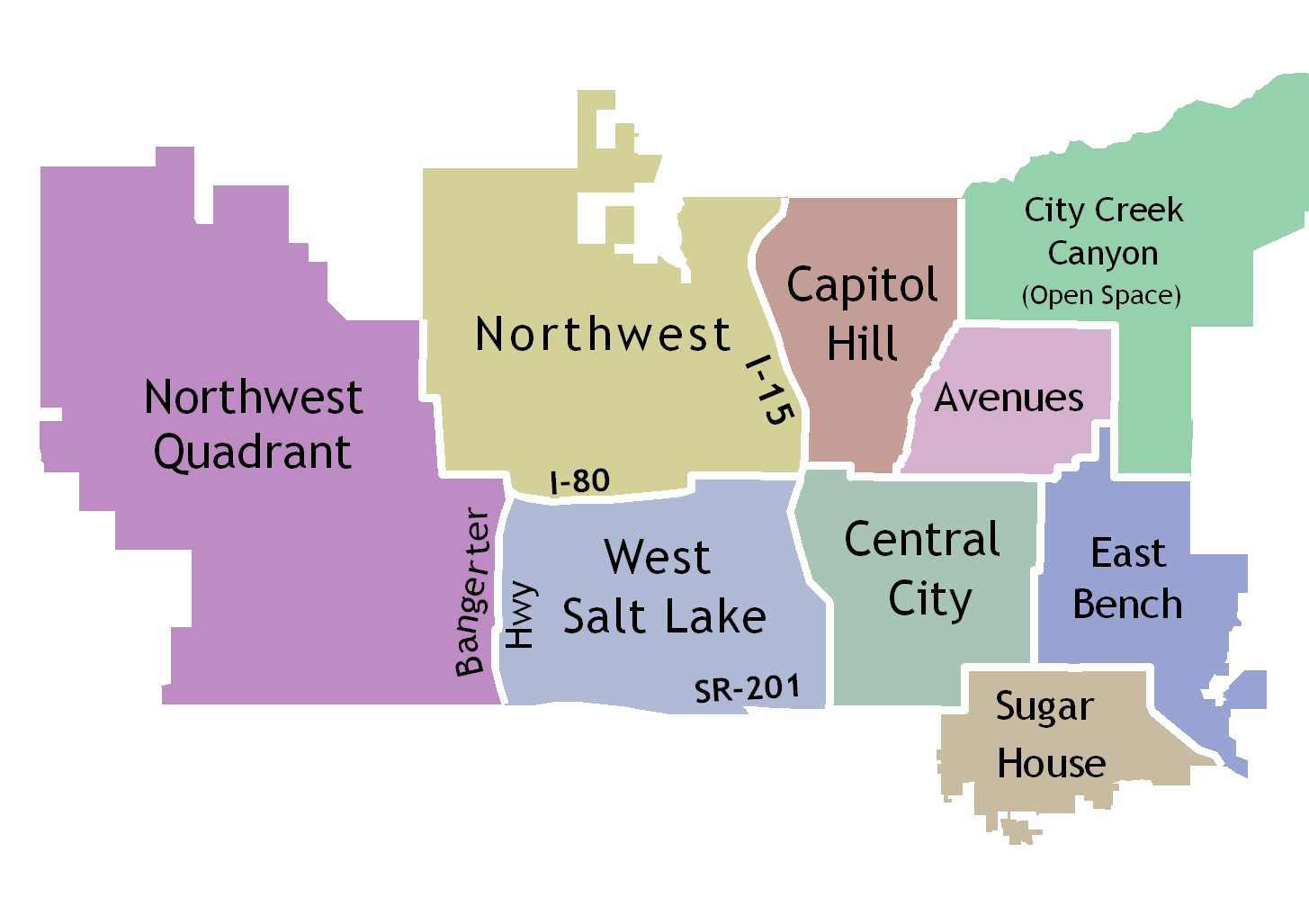 Salt Lake City Maps | Zoning