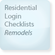 Residential Login Checklist, Remodels