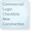 Commercial Login Checklist, New Construction